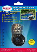 Pratley Cable Glands now Available to DIY Market